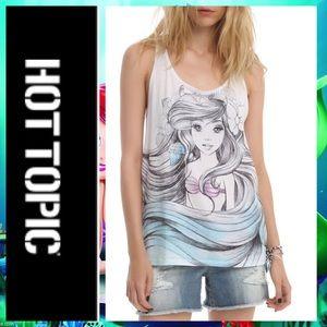 🍀 Hot Topic Disney Little Mermaid Ariel Tank Top